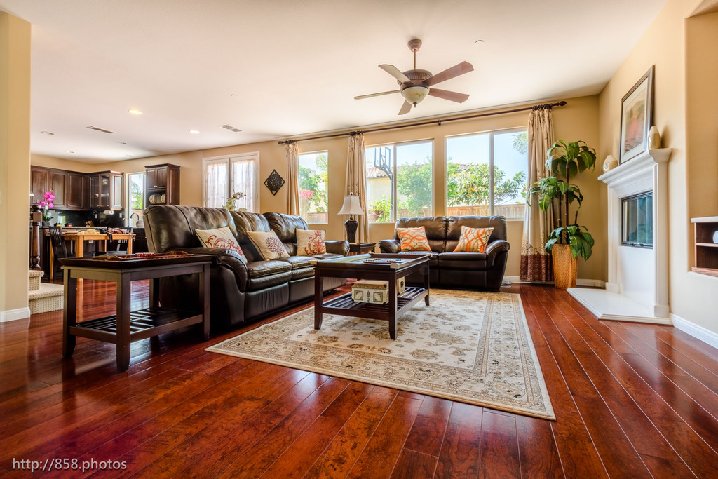 Living Room, 4S Ranch Home